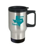 Winter Is Never Coming Texas Funny Travel Mug Stainless Steel 14 Oz