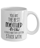 Mother-in-law Mug Gift, Mother of the Groom, Gift for Inlaws, Mother of the Bride Mug