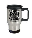 I am A Proud Dad of Freaking Awesome Daughter ..Yes, She Bought Me This Mug