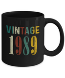 30th Birthday Gifts Vintage 1989 Mug for Awesome in New Year 2019