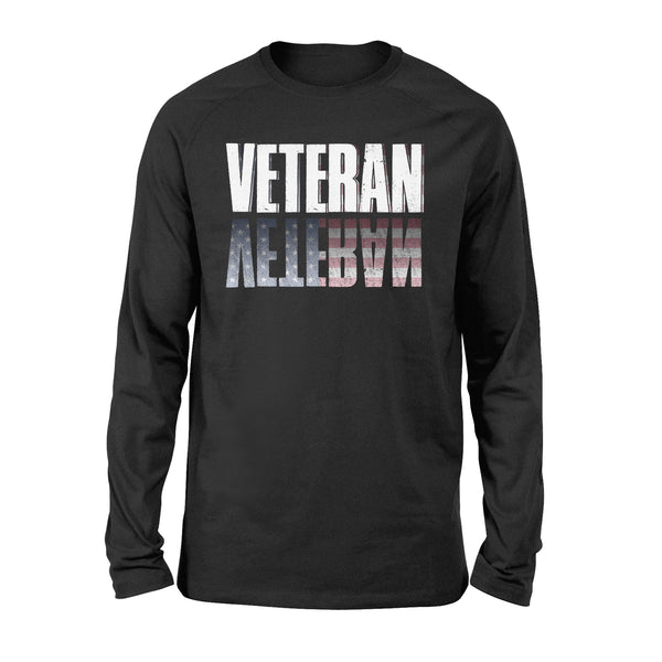 Proud VETERAN Novelty Graphics - Standard Long Sleeve