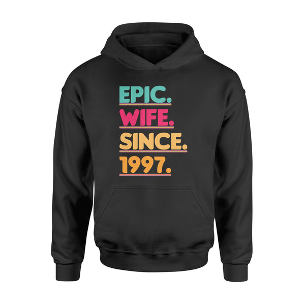 KingBubble Epic Wife Since 1997 - Standard Hoodie