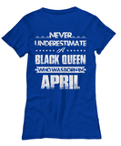 Black Queen Who Was Born in April