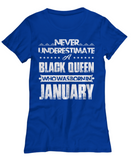 Black Queen Who Was Born in January