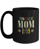 Vintage Mom 1999 Mug, 20 Years Old Birthday, 20th Anniversary Celebration Gift for Her, Mother's Day Idea