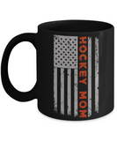 Hockey Mom U.S. Flag Pride Coffee Mug