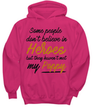 Some People Dont Believe In Heroes but They Haven't Met My Poppy Tshirt