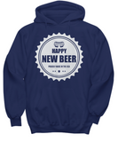 Funny Beer Shirt Happy New Beer Proudly Made In USA