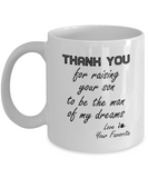 Mother-In-Law Mug From Daughter-In-Law Mother's Day Gifts Coffee Mug 11oz. 15oz.