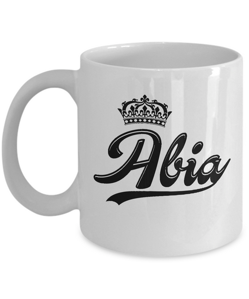 Abia Coffee Mug, Gifts For Abia, Mugs For Her, Princess Abia Gifts