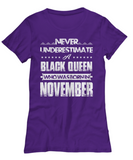 Black Queen Who Was Born in November