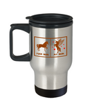 Your Nana My Nana Horse Unicorn Funny Travel Mug For Crazy Nanas