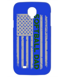 Softball Dad U.S. Flag Phone Case