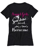 August Birthday Women's Tank Top August Girls Are Sunshine Mixed With A Little Hurricane