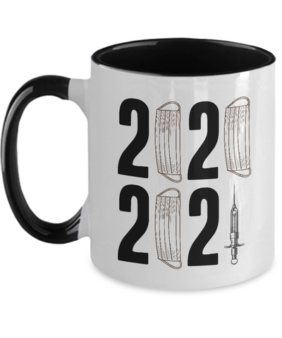 New Year Mug, Funny 2021 Coffee Mug Novelty Graphic Gift Men Women