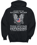 Veteran Shirt I Stand For The National Anthem