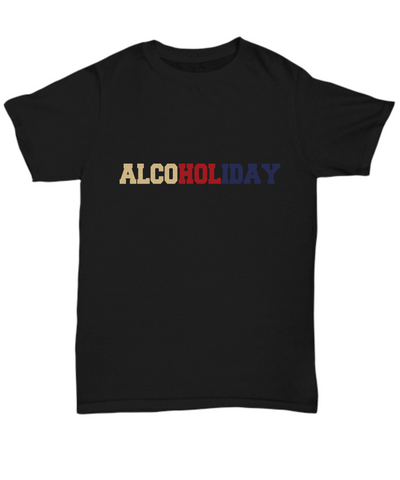 Alcoholiday America Flag Colors