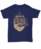 Flag Day 2018 - US Flag Funny Gifts 2018 - 'Merica Man Unisex Tshirt