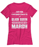 Black Queen Who Was Born in March