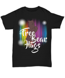 Free Bear Hugs Gift LGBT Pride Month Rainbow Colors Shirt