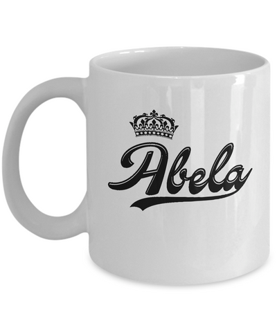 Abela Coffee Mug, Gifts For Abela, Mugs For Her, Princess Abela Gifts