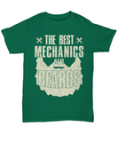 Funny Beard Shirt The Best Mechanics Have Beards Gift Fathers Day 2018 Shirt for Him