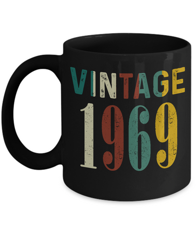 50th Birthday Gifts Vintage 1969 Mug for Awesome in New Year 2019