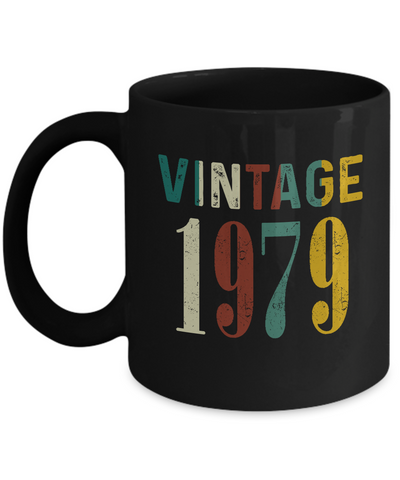 40th Birthday Gifts Vintage 1979 Mug for Awesome in New Year 2019