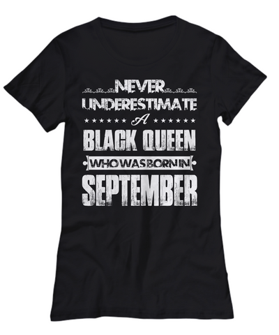 Black Queen Who Was Born in September