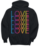 Love LGBT Pride Month 2018 Gay Pride Rainbow Colors T-shirt