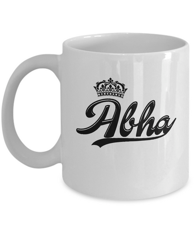 Abha Coffee Mug, Gifts For Abha, Mugs For Her, Princess Abha Gifts