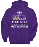 Queen Are Born In September