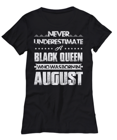Black Queen Who Was Born in August