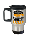 Engineer Mug The Most Important Call Me Dad Travel Mug Stainless Steel 14 Oz
