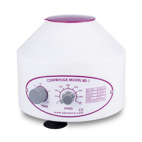 80-1 Lab Centrifuge w/ Timer & Speed Control - 4000 rpm - Cap. 20 ml