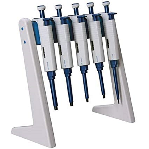 Linear Stand, holds up to 6 pipettors