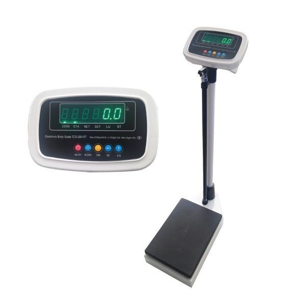 Digital Scale with Stadiometer  200 kg / 440 lb