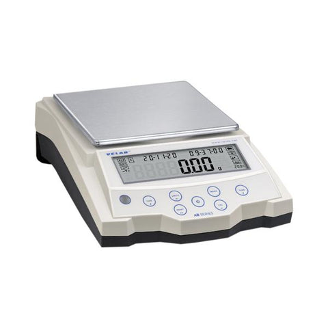 "VE-2202  Precision Balance w/ internal rechargeable battery, 2200g, 0.01g, 168 X 168mm / 6.6"" x 6.6"""
