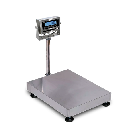 VE-WD300L Washdown Bench and Floor Scales, 300kg/660lb, 50g/0.1lb