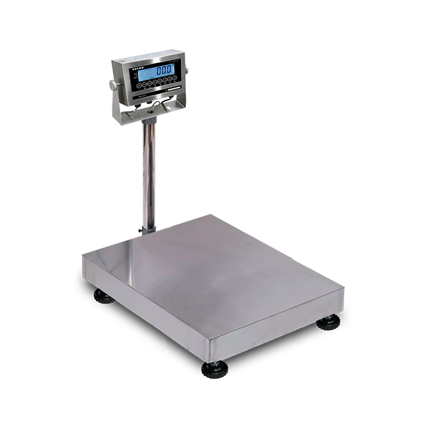 VE-WD150L Washdown Bench and Floor Scales, 150kg/330lb, 20g/0.05lb