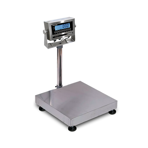 VE-WD60M Washdown Bench and Floor Scales, 60kg/130lb, 10g/0.02lb