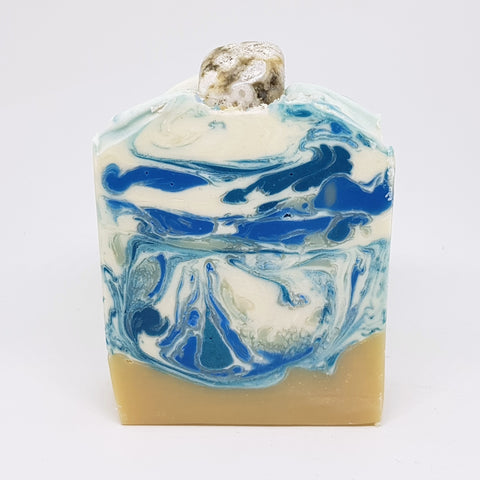 Ocean Jasper Crystal Soap
