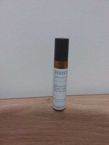 Goddess - essential oil blend roller bottle