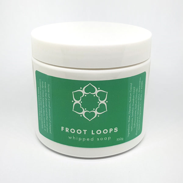 Froot Loops Whipped Soap