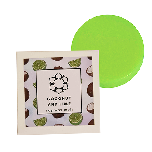 Coconut & Lime Single Soy Wax Melt