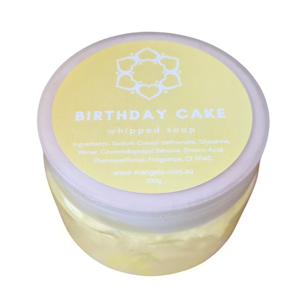 Mini Birthday Cake Whipped Soap