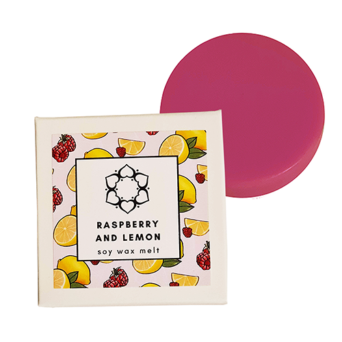 Raspberry & Lemon Single Soy Wax Melt