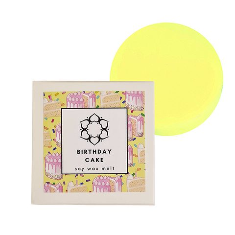 Birthday Cake Single Soy Wax Melt