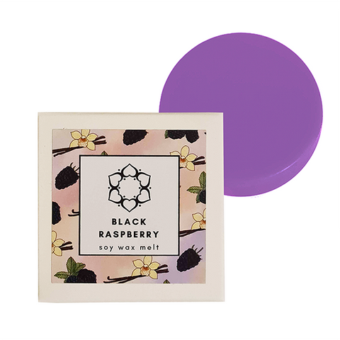 Black Raspberry Single Soy Wax Melt