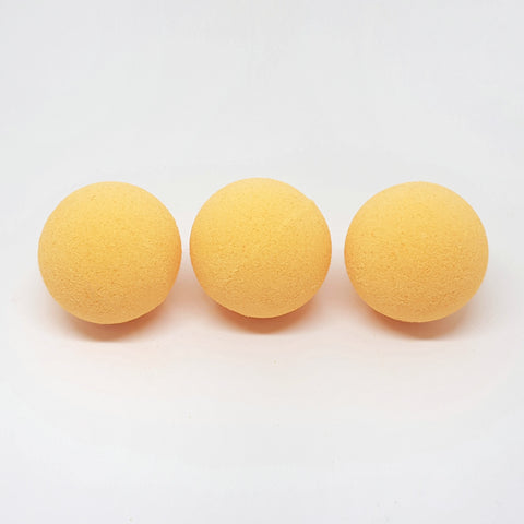 Orange and Vanilla Mini Bath Bombs